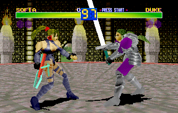 TOSHINDEN GAME